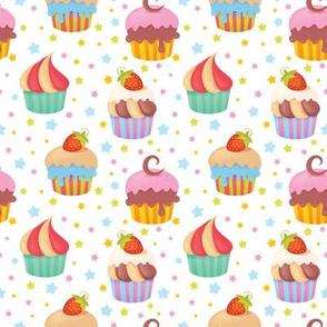 Cupcakes - White