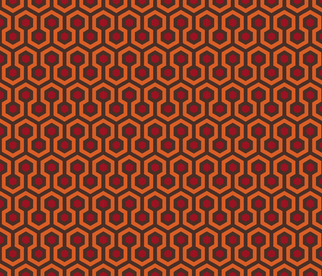 REDRUM fabric by sandityche on Spoonflower - custom fabric