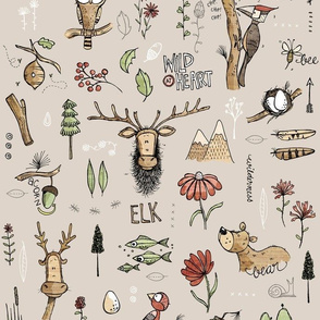 Nature Study - with Elk!