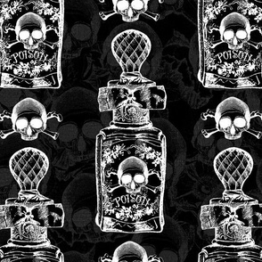 Pretty Poison Bottle Gothic