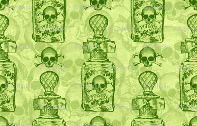 Pretty Poison Bottle Green