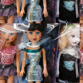 Baby Dolls In Line