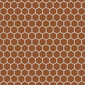 Honeycomb in Chestnut