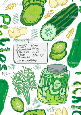 Farmer's Market Pickle Recipe