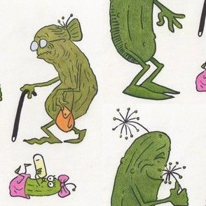 A Pickle Family Stroll, color