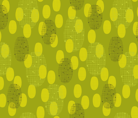 Plaid Pickles fabric by snowflower on Spoonflower - custom fabric