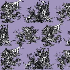 Jurassic Toile Purple