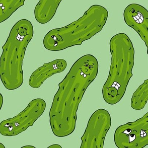 A Peculiar Pile of Pretty Pickles