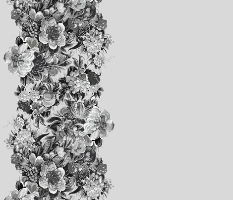 Rrmid_century_floral_cocktail___border_print___black_and_white_on_silver_leaf___peacoquette_designs___copyright_2015_shop_preview