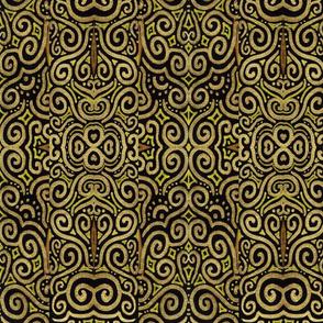 Golden Svadisthana - Ikat