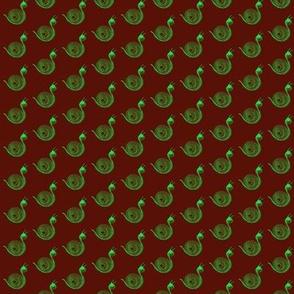 Snails Green Scarlet