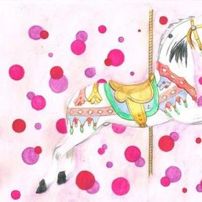 Carousel_horse_pink dot