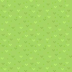 Pixel Grass Background