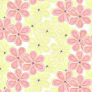 Yellow & Pink Flower Leis