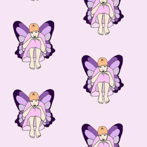 Lavender Pensive Fairy