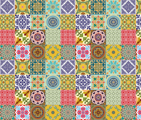 Brazilian Potpourri! #008 fabric by bymemi on Spoonflower - custom fabric