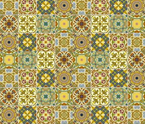 Brazilian Potpourri! #005 fabric by bymemi on Spoonflower - custom fabric