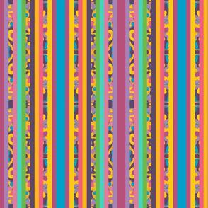 Carve of Land Vertical Stripes