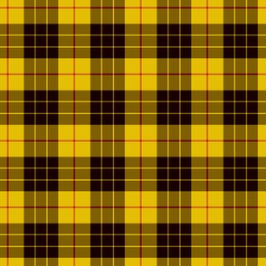 "2"" scale MacLeod tartan, custom colorway"