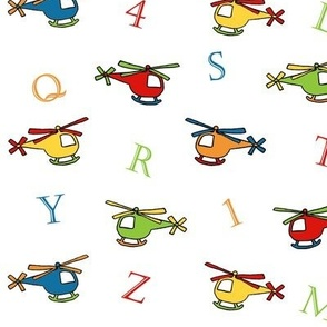 ABC Helicopter Fabric