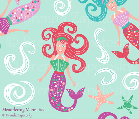 Meandering Mermaids