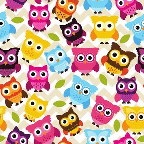 Chevron Owls