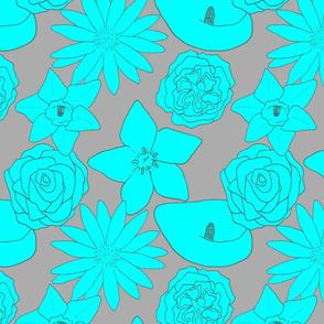 Flourishing Flowers - Tutti Fruitti