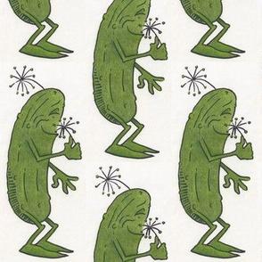 Mr. Pickle, color