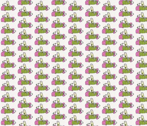 Baby Gerkin, color fabric by katiame on Spoonflower - custom fabric