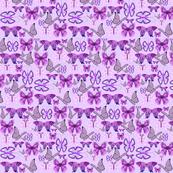 Purple Awareness Butterflies