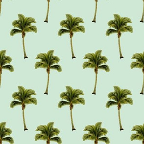 PALM TREE Pale Green