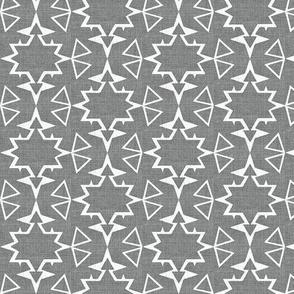 Stars on linen