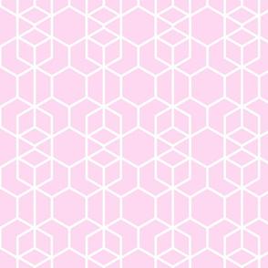 Geo Frame Pink
