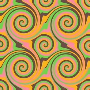 Redbud Swirls