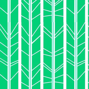 Jade tree branch herringbone