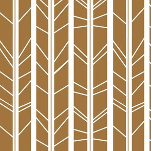 tan tree branch herringbone