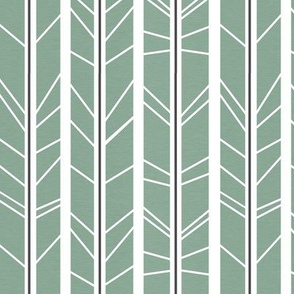 dark mint charcoal tree branch herringbone