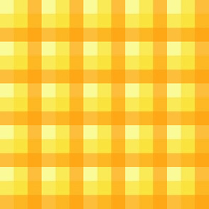 check yellow orange