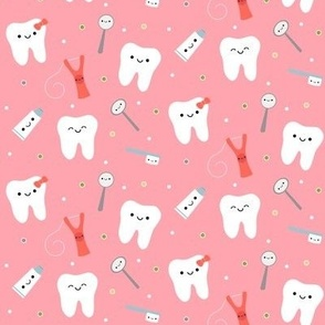 Happy Teeth & Friends - Peachy  Pink