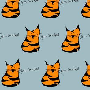 Grrr I'm a tiger