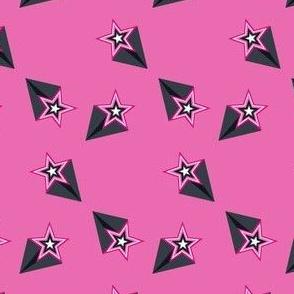 Shooting Stars Multi Pink! - Tribal Dance  - © PinkSodaPop 4ComputerHeaven.com