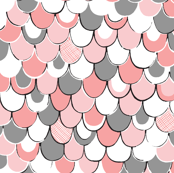 Scale Away (pink/gray)