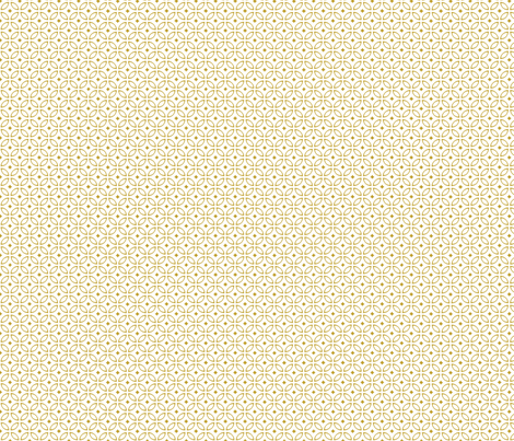 Milano gold fabric by arboreal on Spoonflower - custom fabric