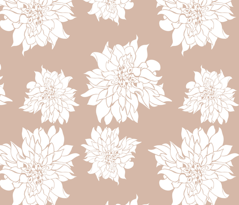Villa Blush fabric by arboreal on Spoonflower - custom fabric
