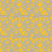 Yellow Rope Pattern Repeat Small