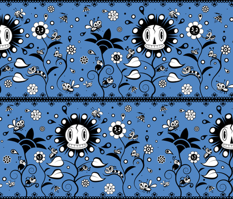 The Garden of Goo fabric by maxdna on Spoonflower - custom fabric