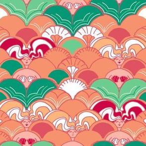 Creamsicle Mermaid