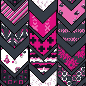 Chevron Fun! - Tribal Dance  - © PinkSodaPop 4ComputerHeaven.com