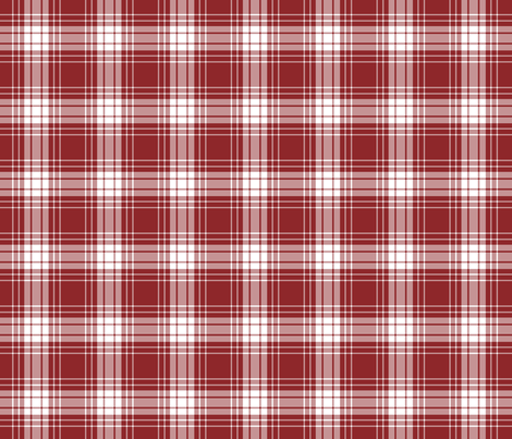 Red_Plaid fabric by lana_gordon_rast_ on Spoonflower - custom fabric