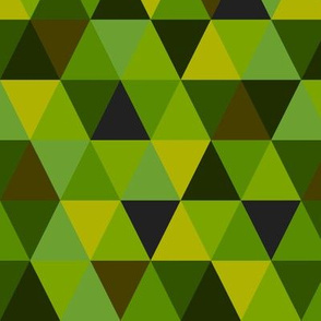 Forest triangles